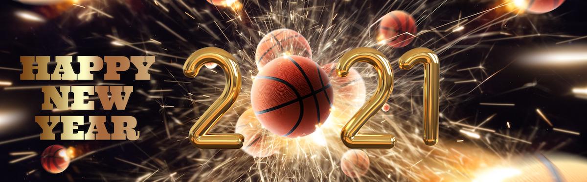Sportief en bovenal gezond 2021 toegewenst!